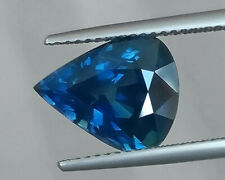 GIA CERTIFIED 5.01 cts. heated Natural Blue Sapphire From Ethiopia. VDO