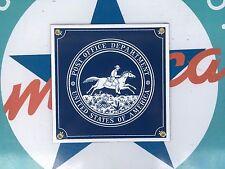 POST OFFICE UNITED STATES OF AMERICA  porcelain coated 18 GAUGE steel SIGN