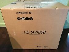 Brand New YAMAHA NS-SW1000PN Subwoofer (Black)