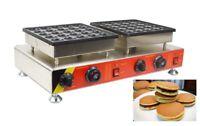 25Holes / 50Holes Commercial Electric Mini Dutch Pancake Waffle Maker Iron Baker