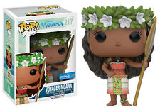 FUNKO POP! DISNEY MOANA SERIES VOYAGER MOANA #217 VINYL FIGURE WALMART EXCLUSIVE