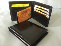 Leather Wallet AE-08 + Business & Credit Card Holder AEC-24 - Combo Deal