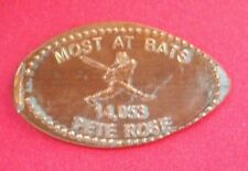 Pete Rose elongated penny Usa cent Mlb Baseball coin Most At Bats