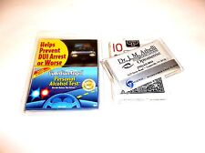 Poker Night Driving Kit Bundle - Playing Cards, Lens Cloth & Dui tests [New]