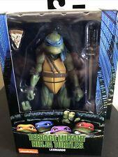 """NECA Teenage Mutant Ninja Turtles 1990 Movie Leonardo 7"""" Action Figure Toy Model"""