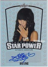 2015 POP CENTURY STAR POWER AUTO: BAI LING - AUTOGRAPH WILD WILD WEST/RED CORNER