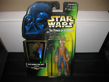 KENNER VINTAGE 1997 STAR WARS FIGURE THE POWER OF THE FORCE YAK FACE SAELT MARAE