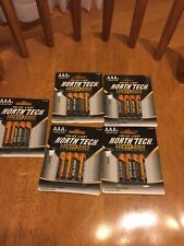 North Tech Solar Light Power Pack 4 Aaa ( 5packs) 20 Total