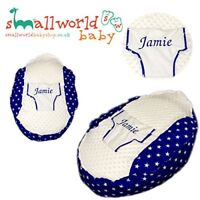 Personalised Boys Royal Blue Star Baby Bean Bag (NEXT DAY DISPATCH)