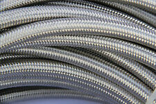 -6AN 6 AN Stainless Steel Braided Hose for OIL/FUEL/GAS LINE/HOSE (20 Foot )