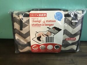 SKIP*HOP Two In One Baby Changing Station Diaper Clutch And Changing Pad NEW