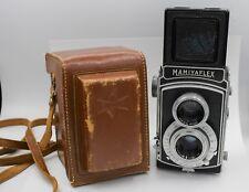 Rare Mamiya Mamiyaflex II 120 Film TLR Camera w/ Setagaya Sekor 7.5cm. F3.5 Lens