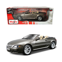 Brand New Maisto 1:18 Scale BMW M6 Cabriolet Diecast Car Special Edition Bronze