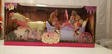 Barbie 12 Dancing Princesses Carriage with box