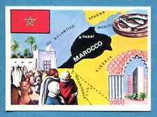 LA TERRA - Panini 1966 - Figurina-Sticker n. 294 - MAROCCO -Rec