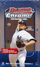 2008 Bowman Chrome Baseball Cards Hobby Box