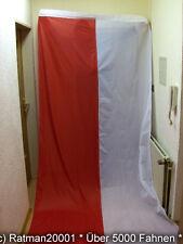 Fahnen Flagge Polen Hochformat Für Querholz - 150 x 400 cm