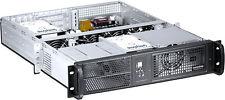 "2U ( 3xRiser / 7xSlot)(Rackmount Chassis)(2x5.25"" + 6xHDD Bay)(ATX/ ITX)Case NEW"