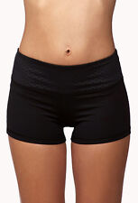 """XS 23"""" - 25""""  BNew Auth XXI  Forever 21 Women Dotted Workout Shorts"""