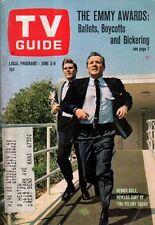 1967 TV Guide June 3 - Howard Duff of Felony Squad; Vic Damone; Pamela Rodgers