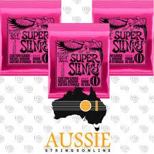 Ernie Ball Super Slinky Electric Guitar String Set (2223)