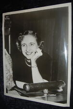 New listing Margaret Truman - Signed Rca Photo - Daughter of Harry & Bess Truman