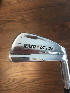 Wilson Haig Ultra Irons. 3 thru PW. Very good shape.  New shafts.