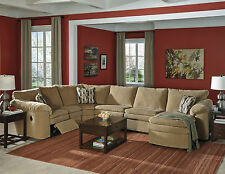 VALLEY - Motion Reclining Sofa Couch Sleeper Sectional Living Room-4 piece Set