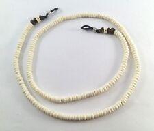 Puka Shell Hawaii Surfer Necklace White Round Beads Mens Women island