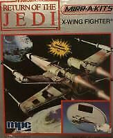 STAR WARS Return of the Jedi X-Wing Fighter Figure 1984 Vintage Rare From Japan