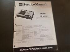 Original Service Manual Schaltplan  Sharp RT-1200H
