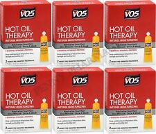 VO5 HOT OIL Therapy - Moisturizing Once Weekly Treatment 2 ct ( 6 boxes )