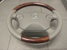 MERCEDES CLK W208 STEERING WHEEL LEATHER beige W210 1999-2003year Lenkrad