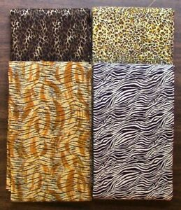 4 One Yard Cuts – Jungle - Quilting, Sewing, 100% Cotton E3282