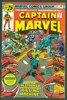 Captain Marvel #44 VF Marvel Comics 1976