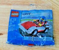 Lego Set 30150 City Race Car Polybag   *NEW*