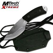 Mtech Xtreme Survival Neck Knife & Kydex Case 440C Blade Knife Knives #8035
