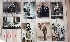CIRCUS FREAK SHOW COLLECT CURIO ODDITY PHOTOGRAPH PRINTS X 8 LOBSTER 6X4