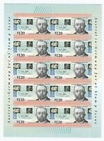1996 AUSTRALIA 'JOINT ISSUE WITH GERMANY' MINI SHEETLET OF 10 x $1.20 MNH STAMPS