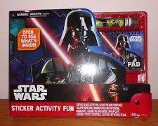 Brand New Disney Star Wars Darth Vader Sticker Activity Fun Set LOTS OF FUN