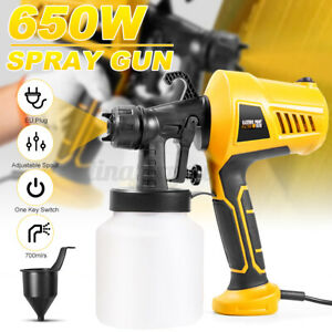 650W Electric Paint Sprayer Handheld Gun Airless Spray Home Fence Shed Wall Home