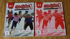 2 books A1 Club@dos1 Livre de l'eleve + CD & workbook with CD