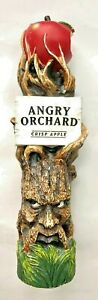 ANGRY ORCHARD - CRISP APPLE CIDER - TREE - BEER TAP HANDLE