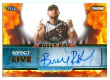 """BULLY RAY """"AUTOGRAPH CARD #29/99"""" KNOCKOUT TNA IMPACT LIVE 2013"""