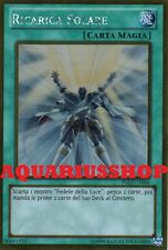 Yu-Gi-Oh Ricarica Solare PGLD-IT046 Gold Ultra in ITA Solar Recharge Fortissimo
