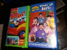 The Wiggles: Toot Toot &  Wake up Jeff(VHS)