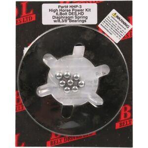 "Belt Drives LTD HHP-3  3/8"" Ball Bearing Clutch Diaphragm Spring Kit for Harley"