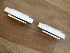2 X BRASS ART DECO KNOBS HANDLES DOOR DRAWER PULL CUPBOARD FURNITURE