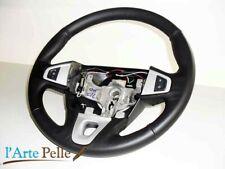Steering Cover Renault Megane Black Genuine Leather