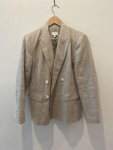 Witchery Linen Jacket Blazer  Size 12